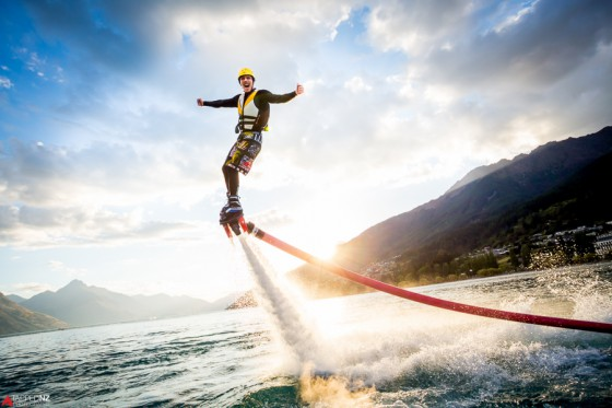 <p>Portugal Rocks the Fly Board in this amazing watersport that is brand new to the Algarve.&nbsp; This thrilling ride will certainly wake you up after a heavy night in the club.</p>