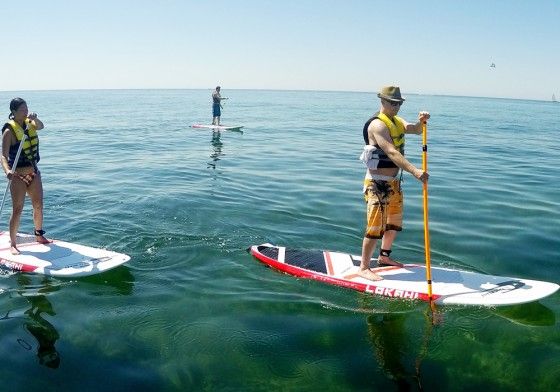Paddle Board Coastal
