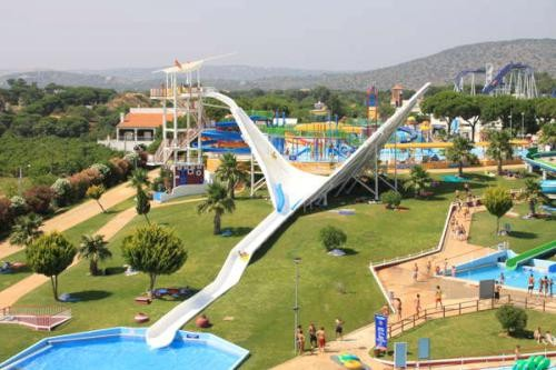 <p>By far the best waterpark on the Algarve, there is a little bit of everything including a full size rollercoaster, massive slides, pools, wave machines, bars, restaurants and theme park rides.</p>