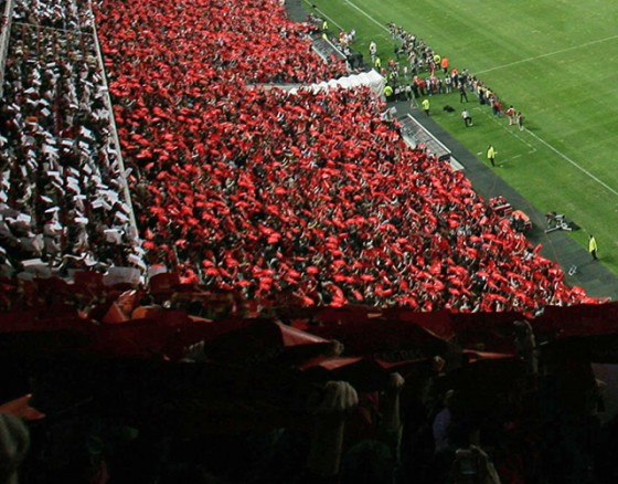 Football game at Benfica