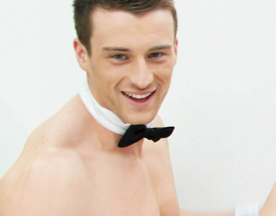 Ladies:  A Butler in the Buff at your Service!