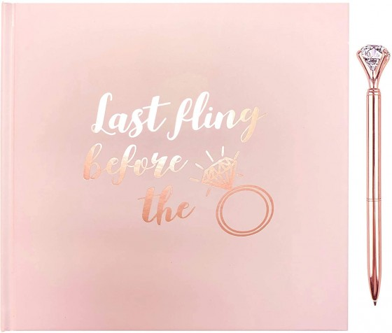 This is the ideal gift for your hen, the perfect pklace to keep all those keepsakes, memories, photos and hilarious moments from the whole wedding from engagement, hen party to the big day itself.