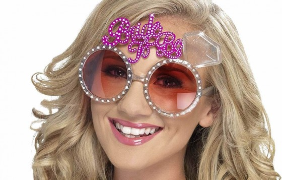The ultimate accessory for any bride on her hen night is some official bride to be glasses, stand out from the crowd, get noticed and be the belle of the ball, well sort of!